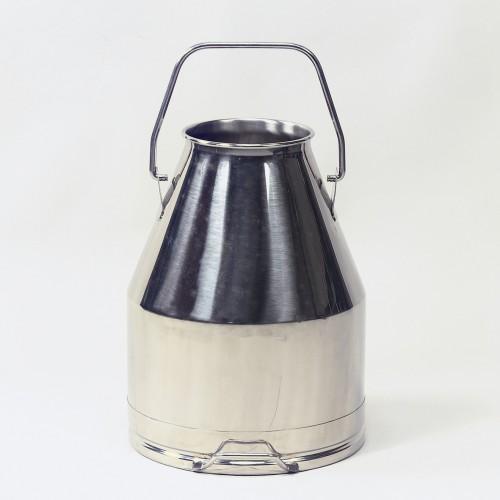 Edelstahl Melkeimer 25 Liter