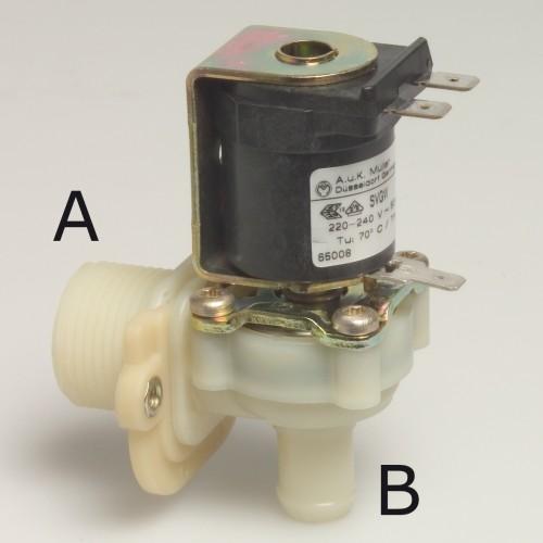 Magnetventil, Winkel 220V 3/4 Anschluss