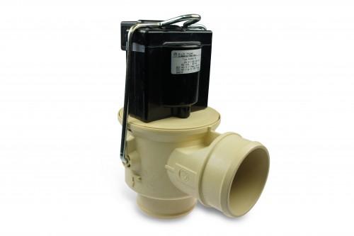 Ablassventil für Milchtank 50mm 230V, stromlos geschlossen