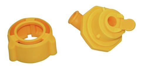 Hygieneventil mit Sauger für Tränkeeimer Kälbertränke Kälbertränkeeimer Kälber