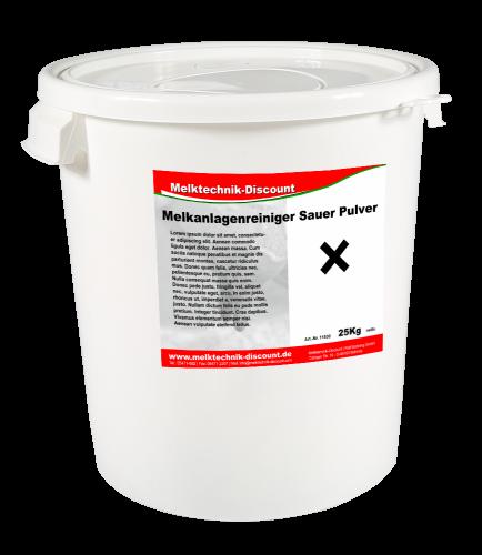 Melkanlagenreiniger Sauer Pulver   25 kg