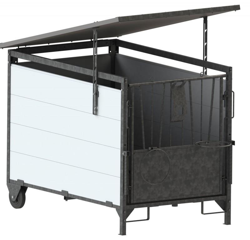 dach f r k lberbox klein. Black Bedroom Furniture Sets. Home Design Ideas