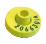Allflex HDX-Senderohrmarke, gelb