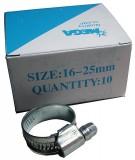 Schlauchschelle, verzinkt, 16 - 25 mm