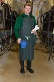 Melkerschürze Premium mit Taschen, Größe S 110 x 118 cm