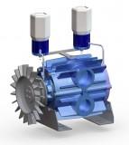Vakuumpumpenkörper passend DeLaval VP77 / VP78 bis max. 2300 ltr./min.