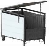 Dach für Kälberbox klein