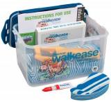 Walkease Starter-Set komplett, Gr. L (blau), 10 Stück/Pack