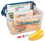 Walkease Starter-Set komplett, Gr. M (gelb), 10 Stück/Pack