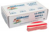 Ersatz-Klauenblock Walkease, S, rot, 10er-Pack