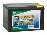 Euro Guard 9V Alkaline-Batterie 120Ah, kleines Gehäuse