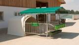 Vordach für Kälberiglu CalfHouse Premium 4/5