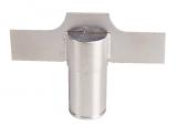 Edelstahl Pumpenflügel (Impeller) passend für DeLaval FMP110 | 905821-80