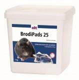 BrodiPads 25, 3kg Brodifacoum