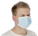 Mund-Nasen-Schutz (Hygienemaske) 3-lagig, 50 Stück/Pack